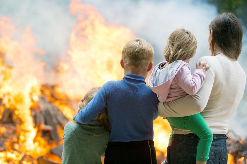 בטיחות אש בבית